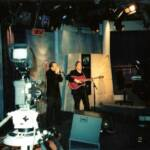 Paul and Sonny on live Television, Reykjavic, Iceland